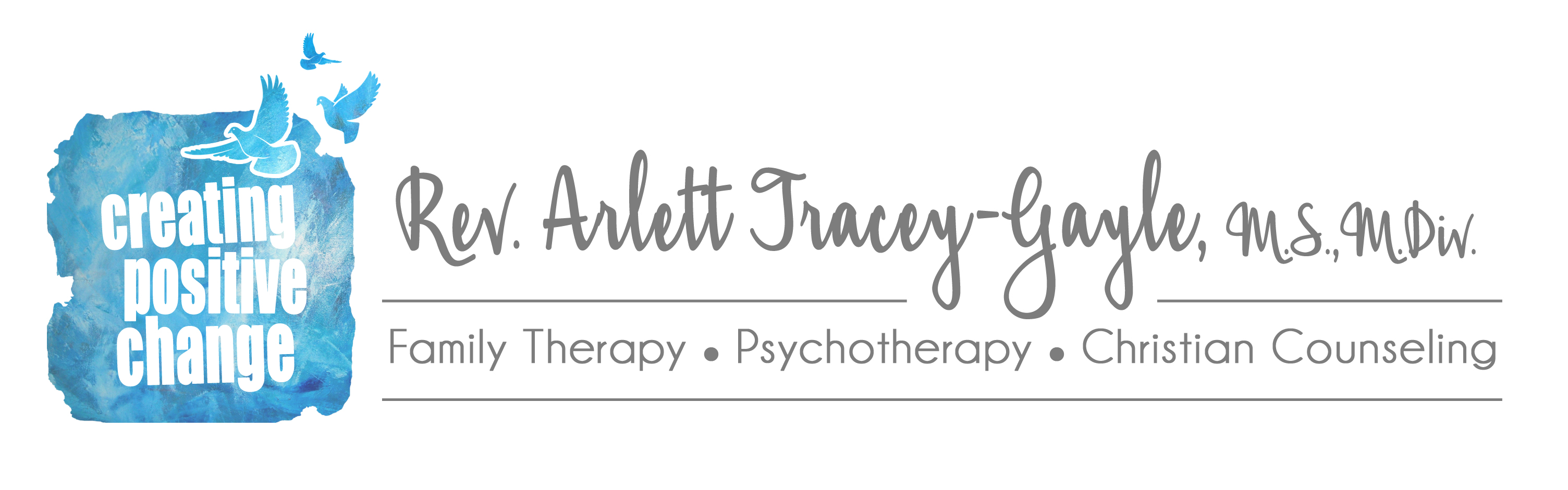 Logo of Revered Arlett Tracey-Gayle Family Therapist and Christian Counselor Planation Florida