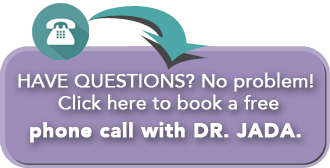 Book a phone call with Plantation Psychologist Dr. Jada - Contact Button